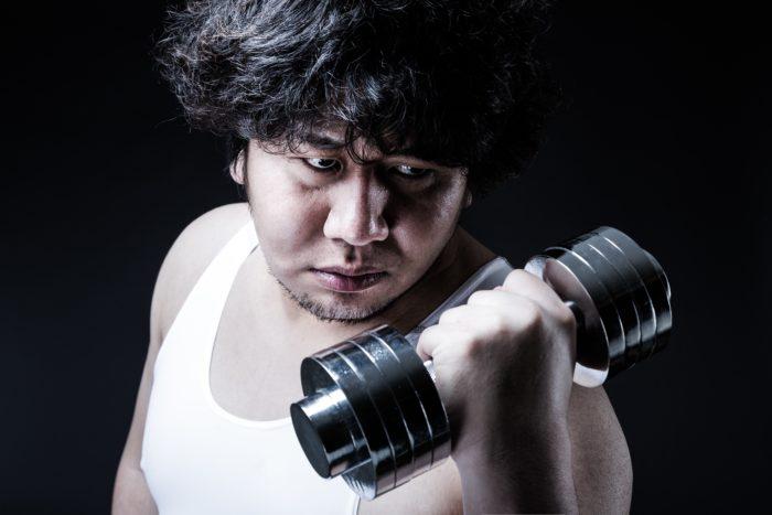 トレーニングサロンLeiにて肉体改造中!!
